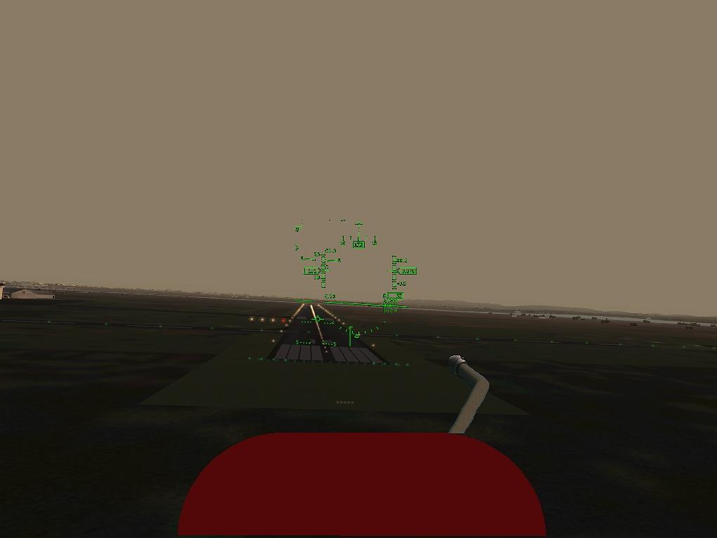 Landing at Napier