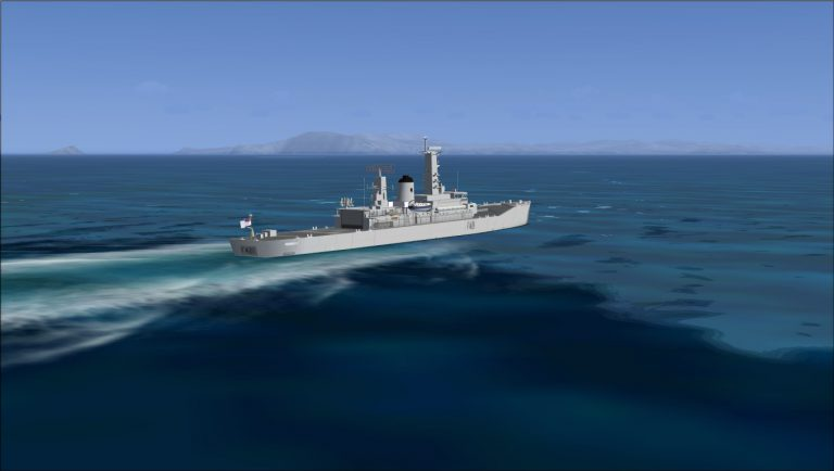 From the Arctic to the Med'; Adventures of HMNZS Canterbury